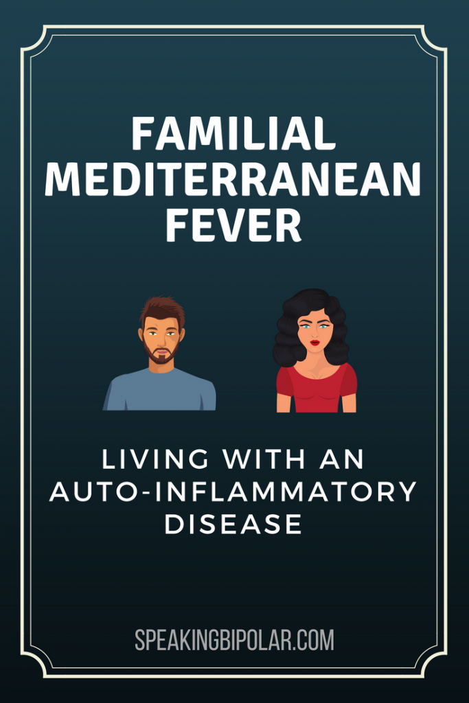 Familial Mediterranean Fever (FMF) is an auto-inflammatory disease that causes pain, especially in the abdomen. Post from a patient living with it. | #FMF #FamilialMediterraneanFever #PatientStory