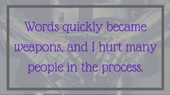 Words quickly became weapons and I hurt many people - 12 Signals That Point to Bipolar Disorder