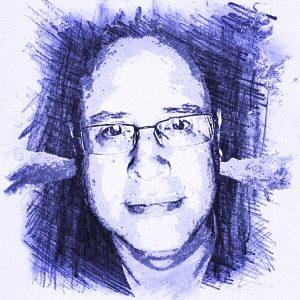 Drawing of Scott Ninneman