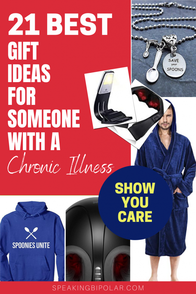 Are you looking for gifts ideas for someone with a chronic illness? Here are 21 of the best gift options chosen by a spoonie. | #giftguide #giftidea #chronicillness