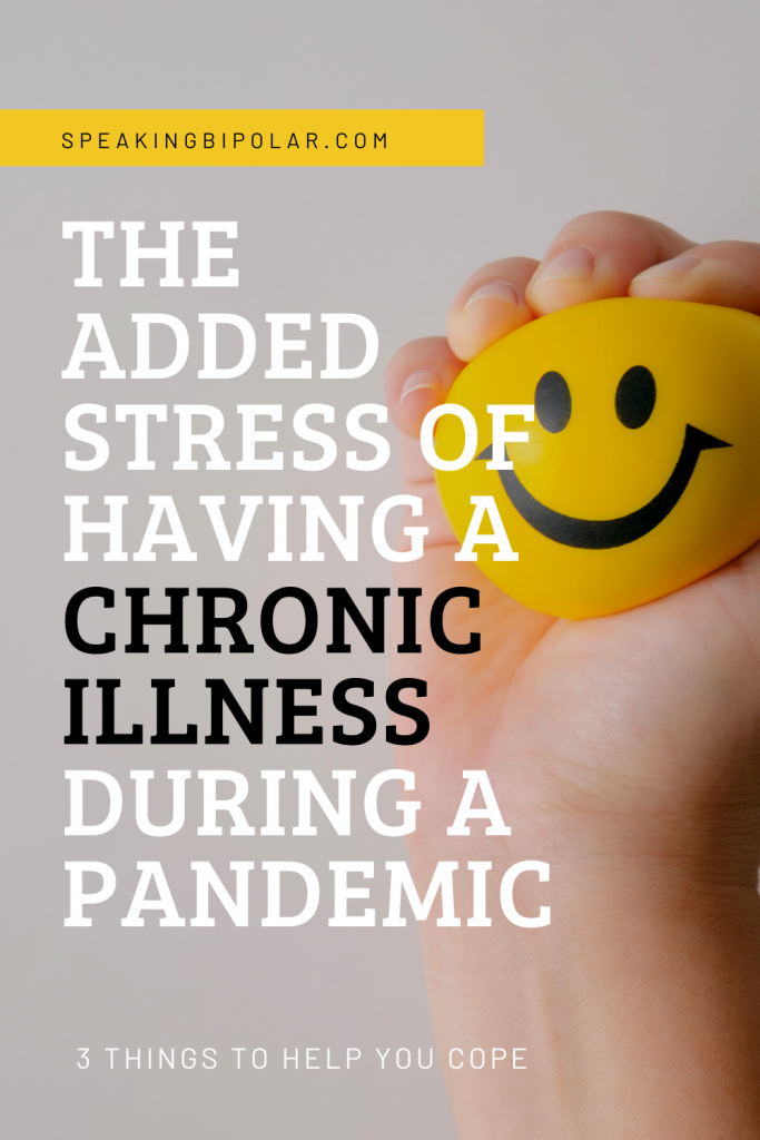 Living with a chronic illness every day is hard. Add in the pandemic, and it's even worse. Here are three ways to cope. | #spoonies #chronicillness #pandemic