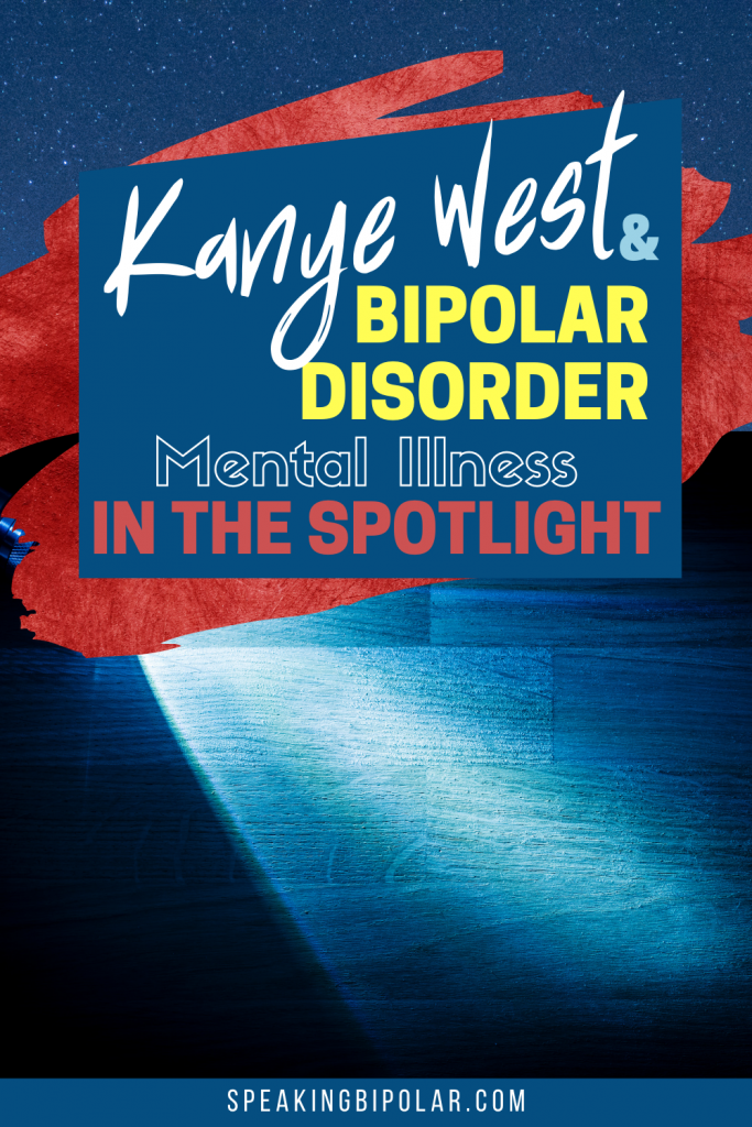 Kanye West is in the headlines campaigning for president while coping with bipolar disorder. This post highlights what you can learn from his experience and how to help with suicide prevention.   #mentalillness #mentalillnessawareness #bipolar #bpd