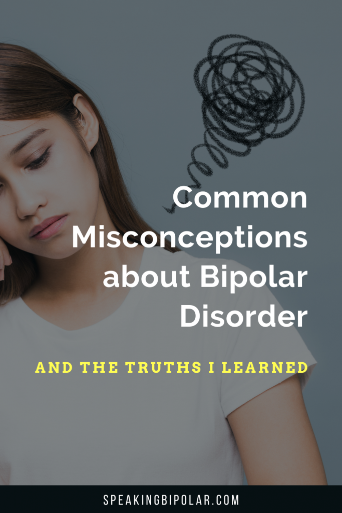 I was scared before my diagnosis because of common misconceptions about bipolar disorder. These are the things I wish I knew in the beginning.   #bipolar #BipolarStrong #mentalillness #MentalHealthMatters
