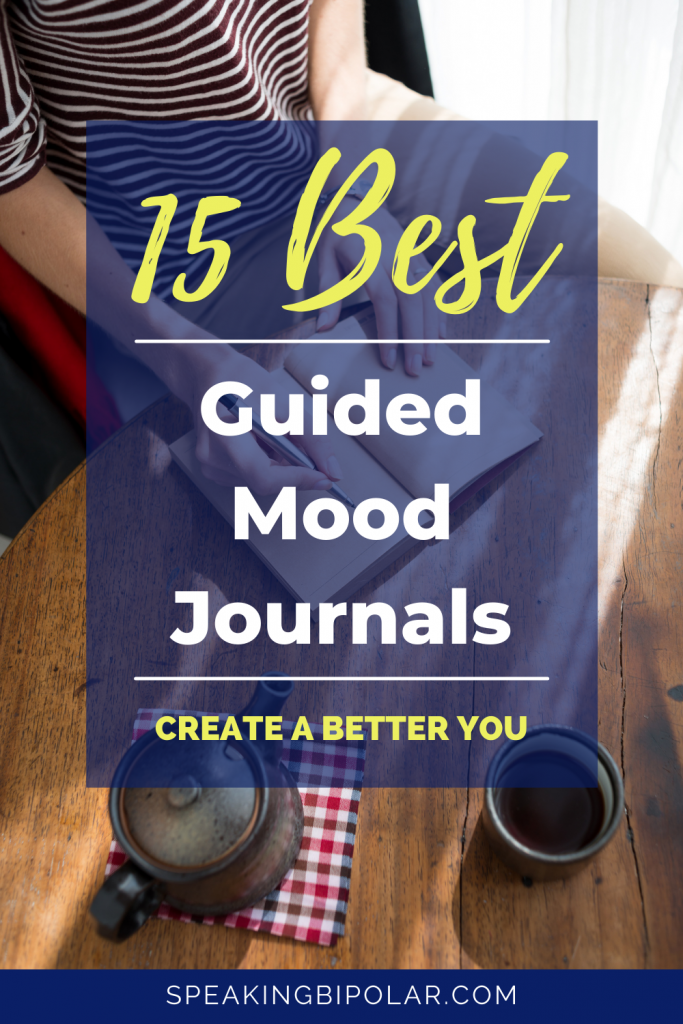 You want to be the best version of you. This collection of guided mood journals will help you achieve your goals. Write your way to better mental health. | #giftguides #journaling #moodjournal