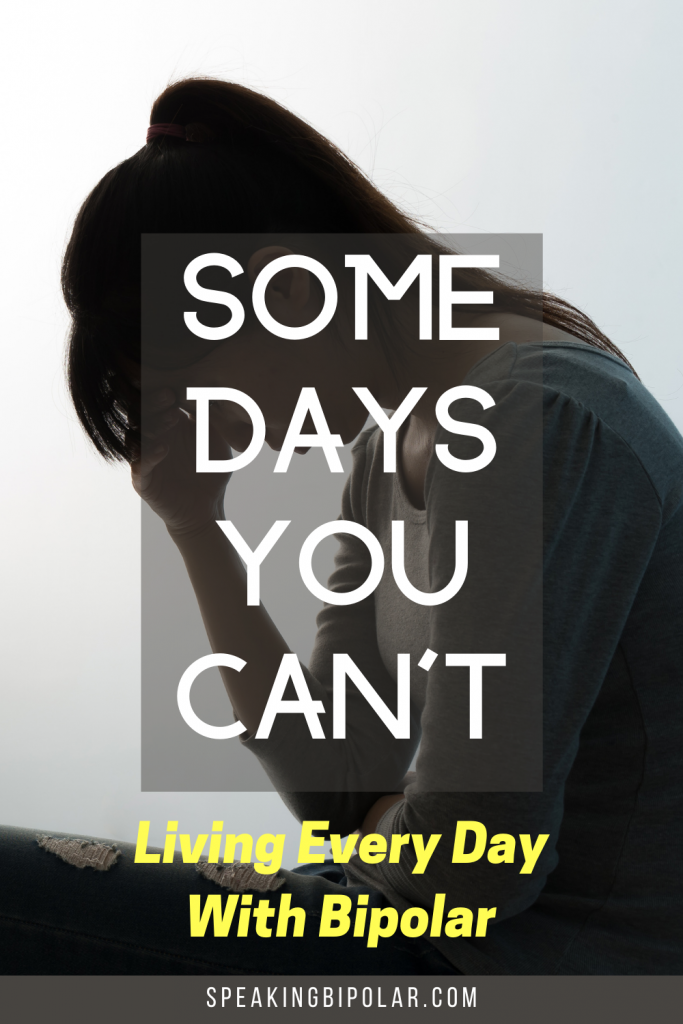Depressed woman - Bipolar disorder causes many bad days. This post is written by someone with bipolar and shows what those days might look like and how to fight them. | #bipolarstrong #mentalillness #bipolar