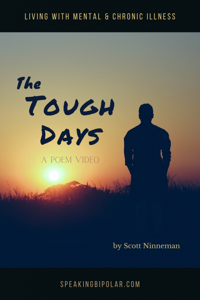 When you have a mental or chronic illness, many days are difficult. This poem is about the hardest days and how they feel to the sufferer. | #poem #poetry #chronicillness #mentalillness
