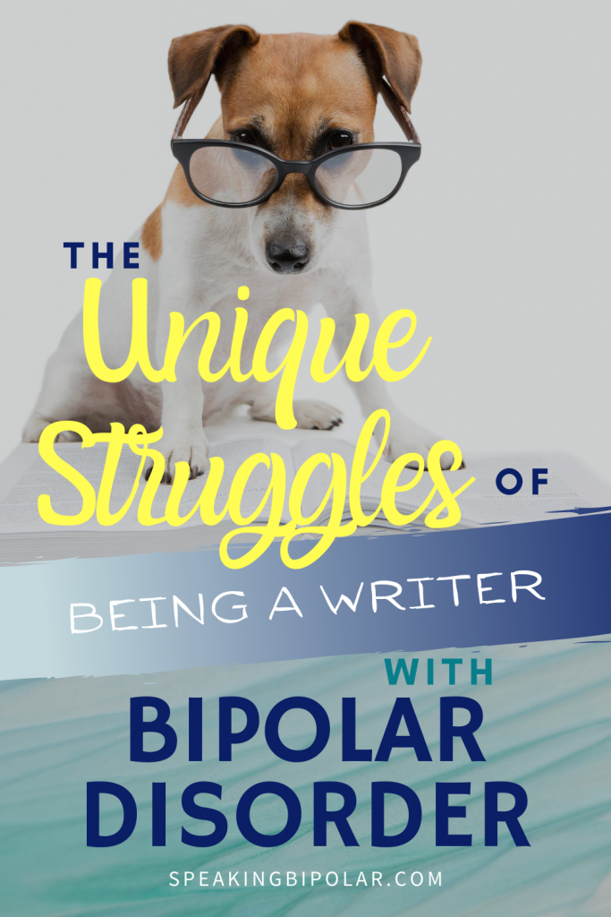 Having bipolar disorder makes everything an adventure. Being a writer is no different. Read the three phases of being a writer with bipolar disorder.   #bipolar #writer #mentalillness #mentalillnessawareness